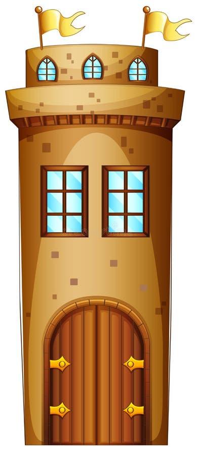 Castelo ilustração royalty free