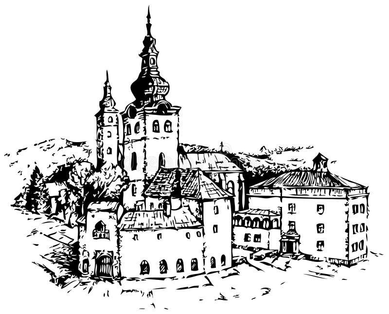 Castelo ilustração do vetor