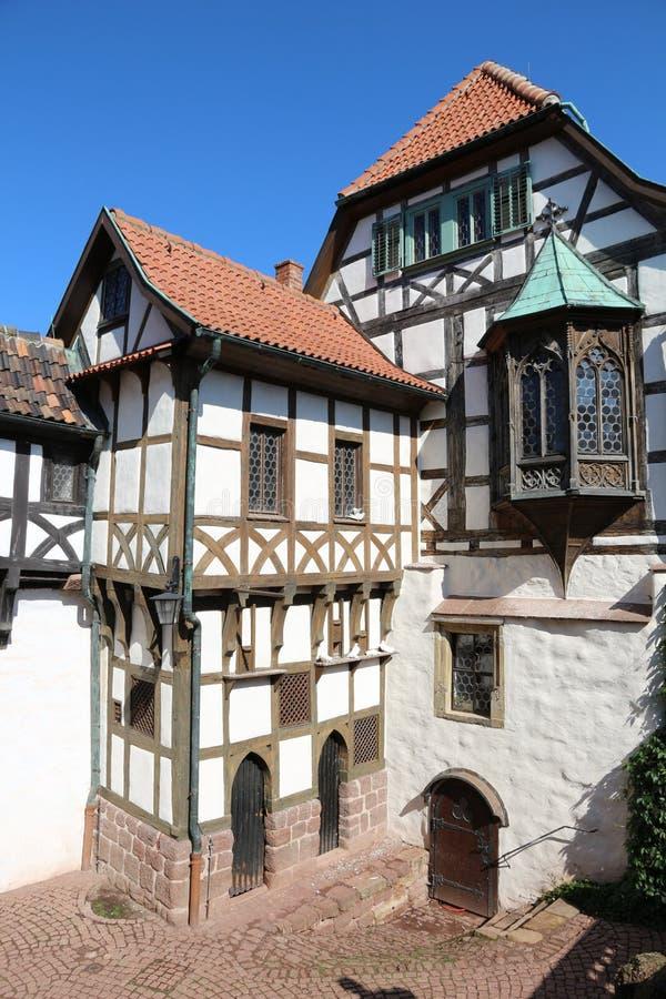 Castelo alemão fotografia de stock