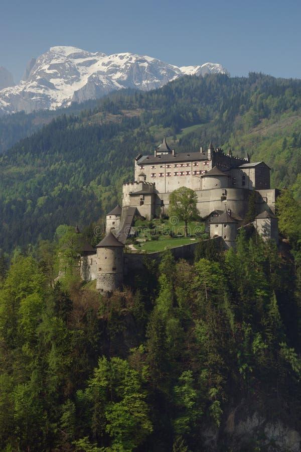 Castelo alpino imagens de stock royalty free