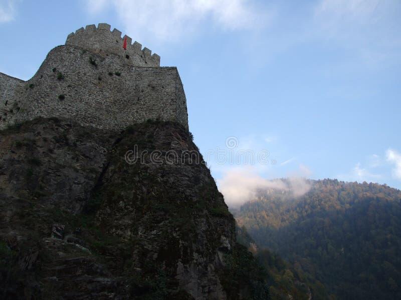 Castelo alto imagens de stock
