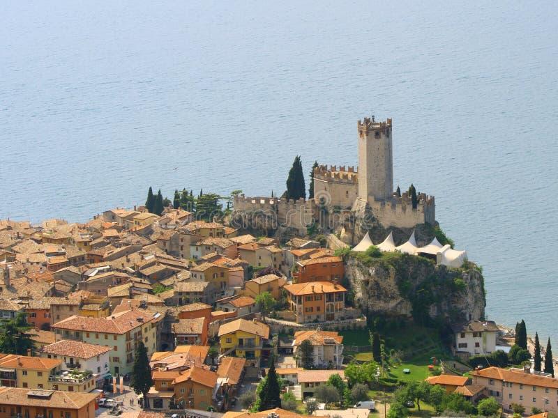 Castelo antigo em Italy fotos de stock royalty free