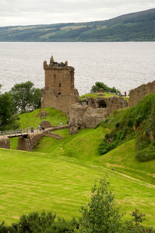 Castelo arruinado imagens de stock royalty free