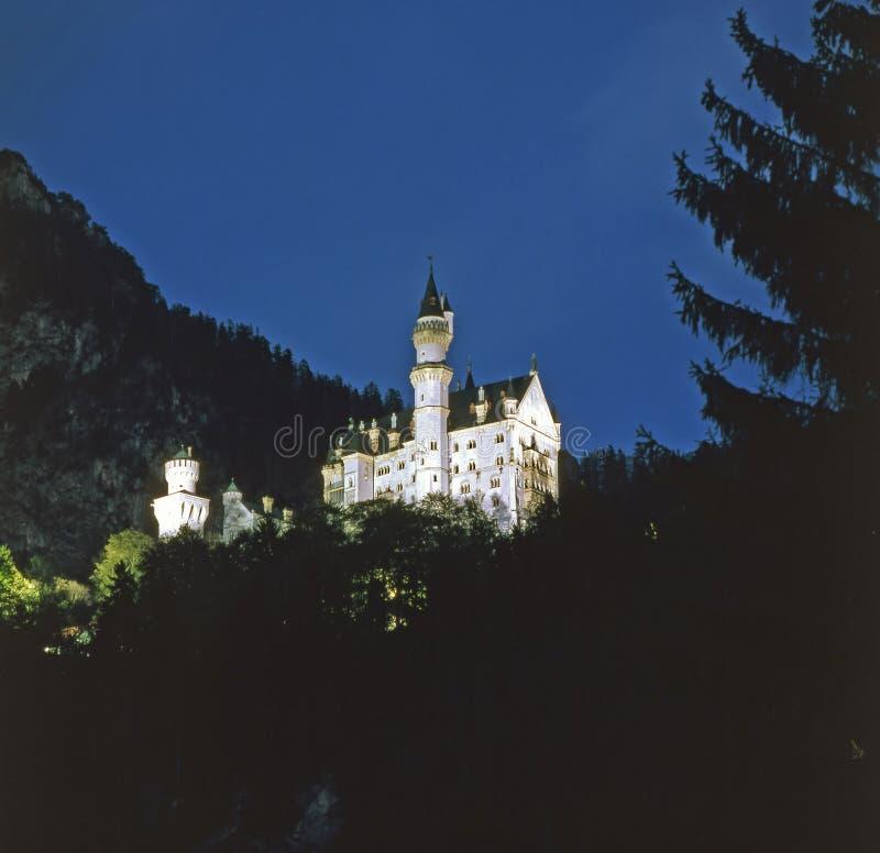 Castelo bávaro fotografia de stock