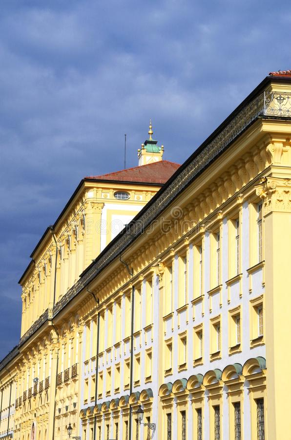 Castelo barroco fotos de stock royalty free