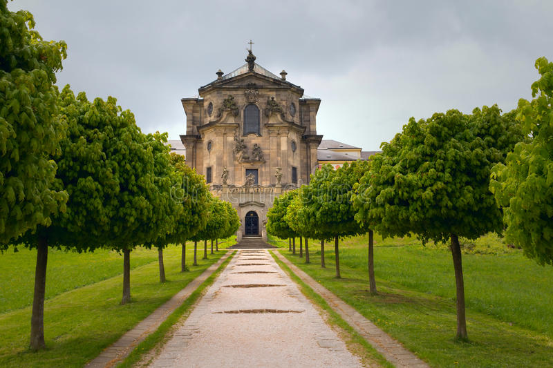 Castelo barroco Kuks na república checa foto de stock royalty free
