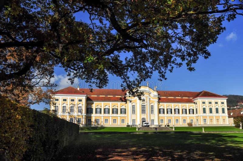 Castelo barroco Schielleiten, Styria, ?ustria foto de stock royalty free