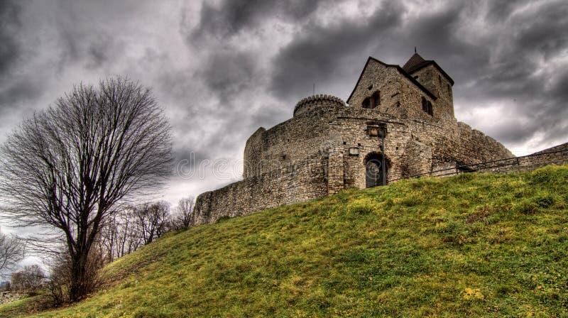 Castelo Bedzin (BÄdzin) imagem de stock royalty free