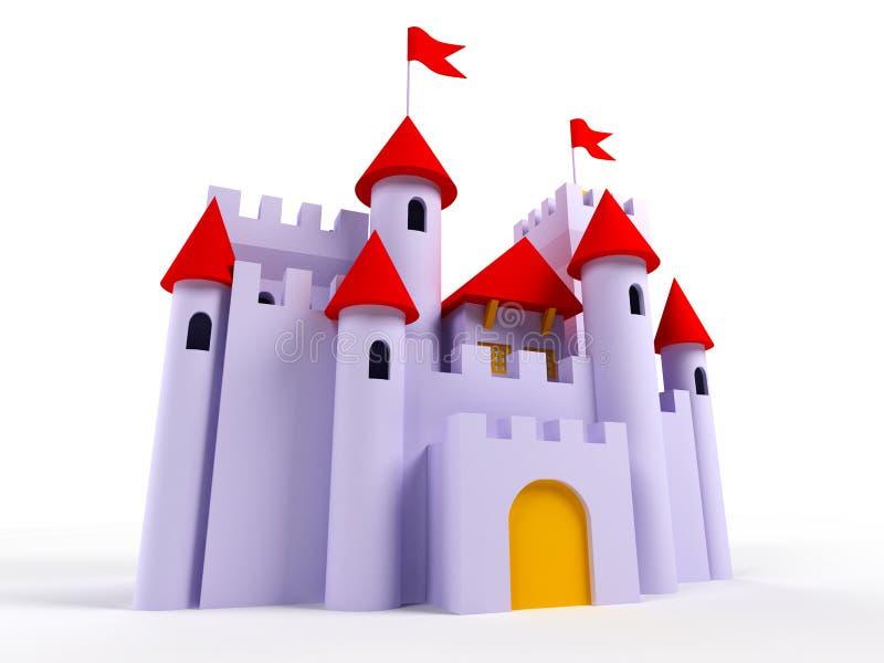 Castelo bonito ilustração do vetor
