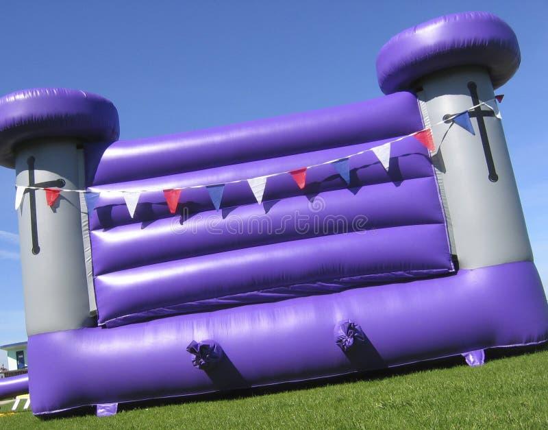 Castelo Bouncy imagem de stock royalty free