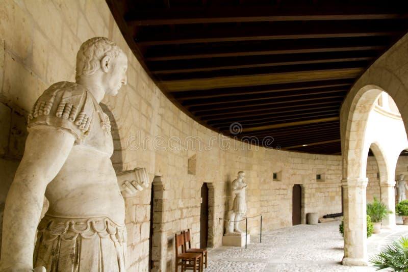 Castelo Castillo de Bellver em Majorca imagem de stock royalty free