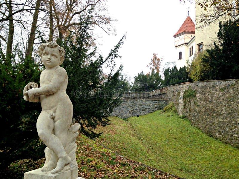 Castelo checo fotografia de stock