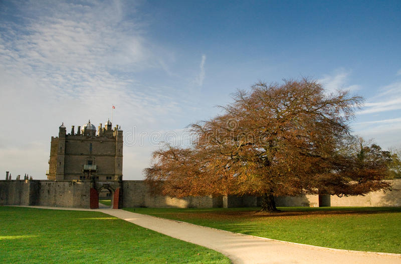 Castelo Chesterfield de Bolsover imagem de stock royalty free