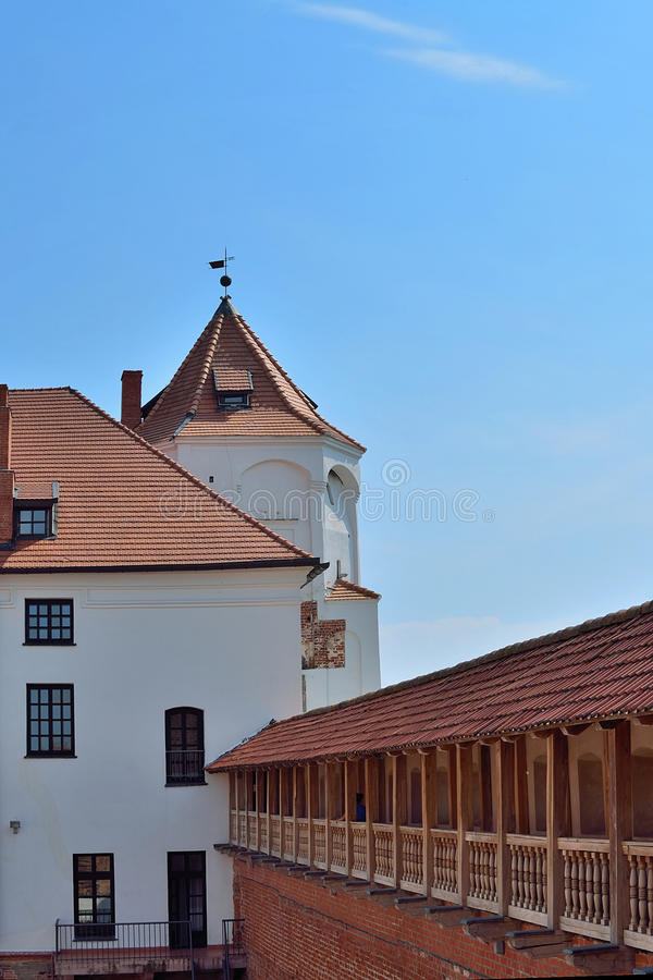 Castelo Complex fotografia de stock royalty free