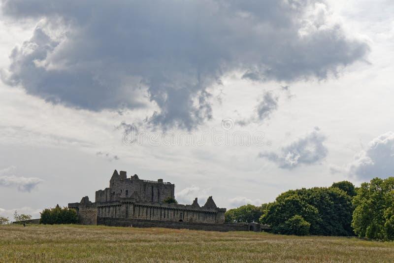 Castelo Craigmillar - Edimburgo, Escócia foto de stock royalty free