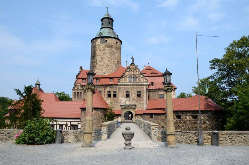 Castelo Czocha no Polônia foto de stock