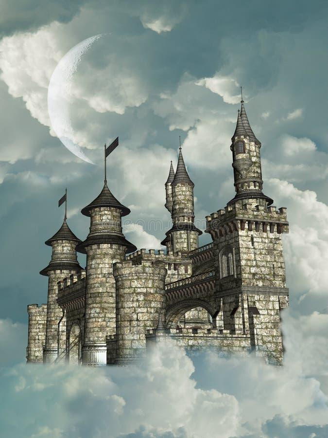 Castelo da fantasia foto de stock