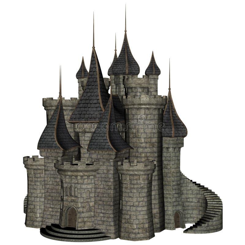 Castelo da fantasia ilustração do vetor