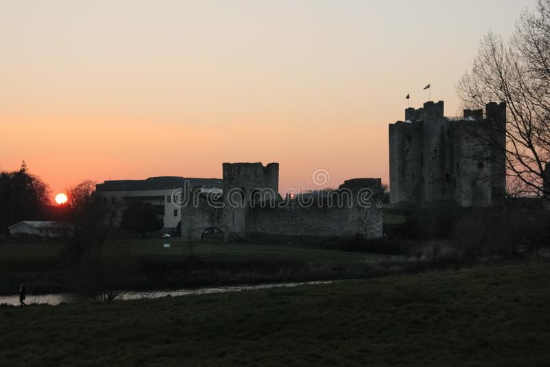 Castelo da guarnição condado Meath ireland foto de stock