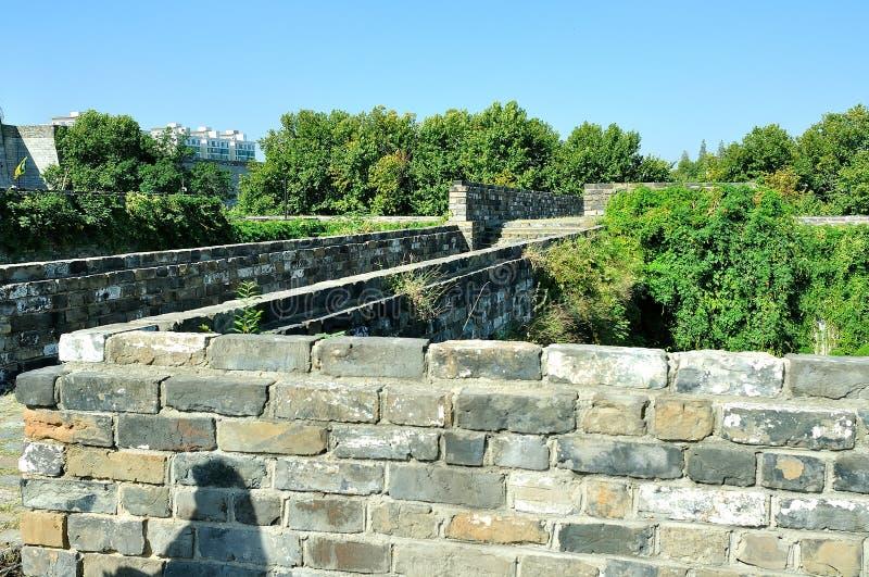 Castelo da porta de Zhonghua imagens de stock