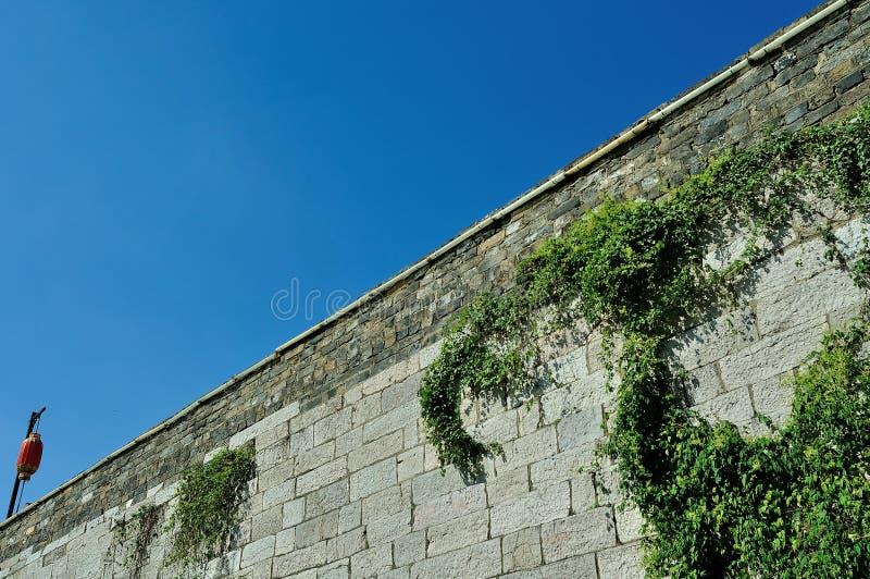 Castelo da porta de Zhonghua imagem de stock