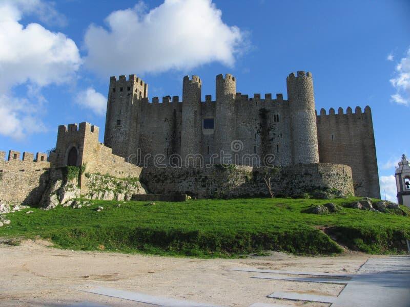 Castelo de Ãbidos, Portogallo fotografia stock libera da diritti