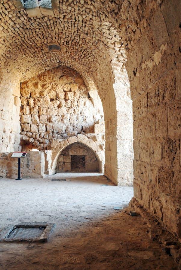 Castelo de Ajlun foto de stock