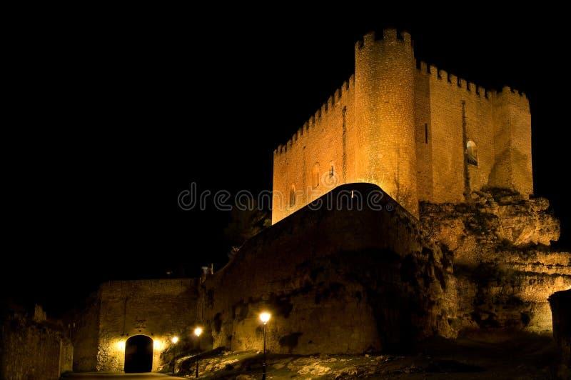 Castelo de Alarcon. Cuenca. Spain foto de stock royalty free