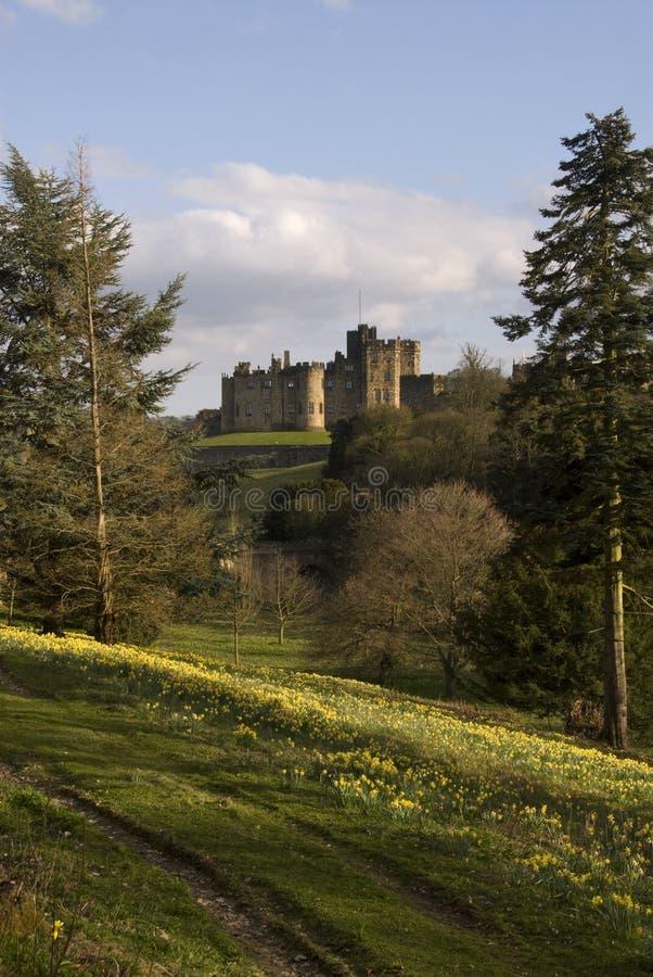 Castelo de Alnwick foto de stock