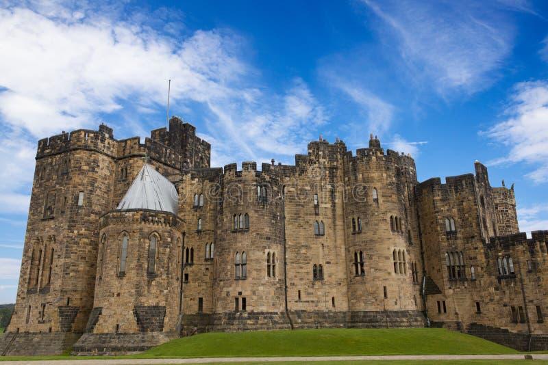 Castelo de Alnwick, Northumberland. imagens de stock