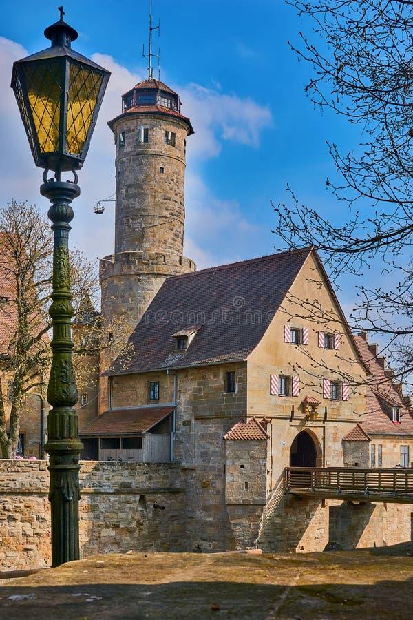 Castelo de Altemburgo, Bamberga, Alemanha fotografia de stock royalty free
