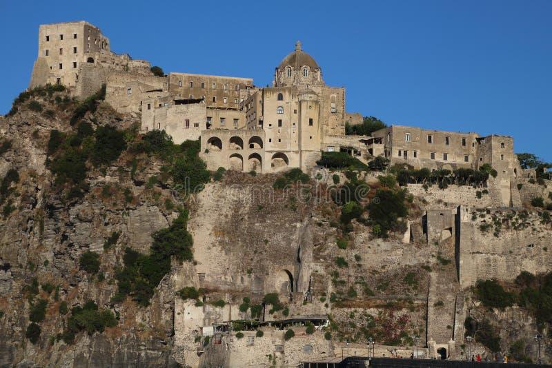 Castelo de Aragonese, Itália fotos de stock royalty free