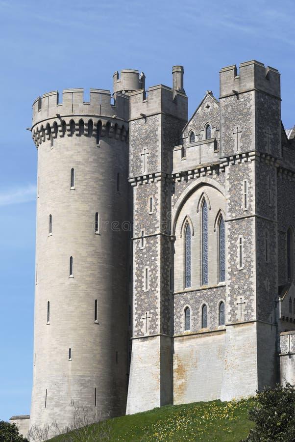 Castelo de Arundel. Sussex ocidental. Reino Unido imagens de stock