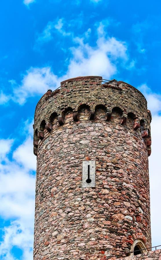 Castelo de Auerbach em Hesse, Alemanha fotos de stock