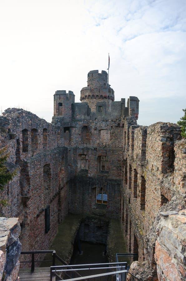Castelo de Auerbach - peça do interior imagem de stock