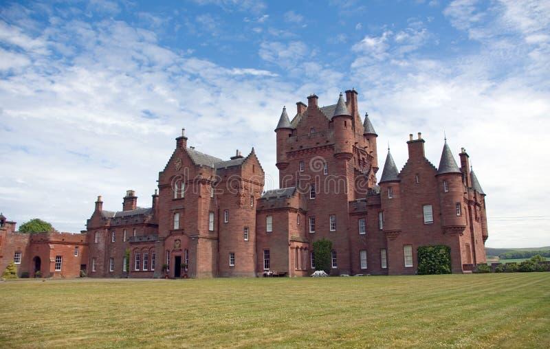Castelo de Ayton fotos de stock royalty free