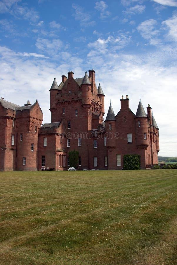Castelo de Ayton foto de stock