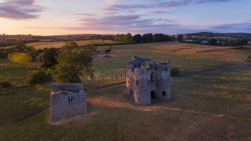 Castelo de Ballyloughan Bagenalstown condado Carlow ireland fotografia de stock royalty free