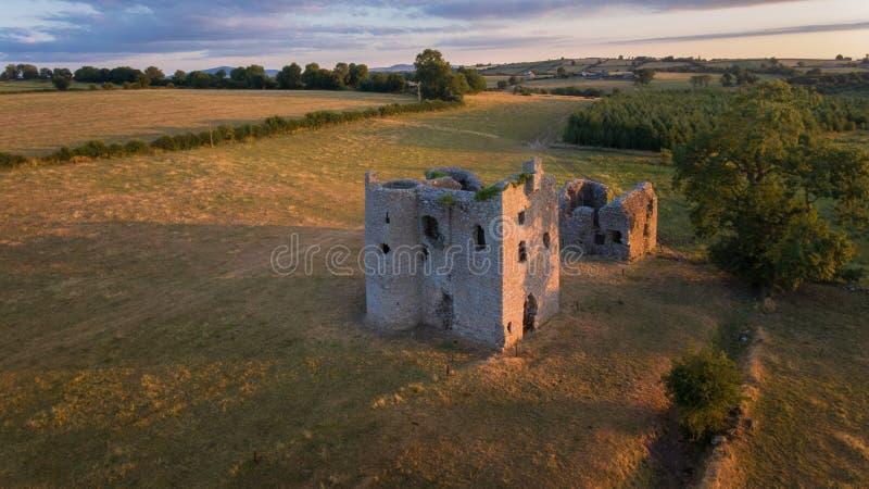 Castelo de Ballyloughan Bagenalstown condado Carlow ireland foto de stock royalty free