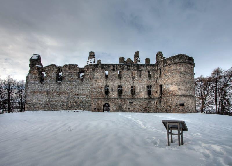 Castelo de Balvenie imagem de stock royalty free