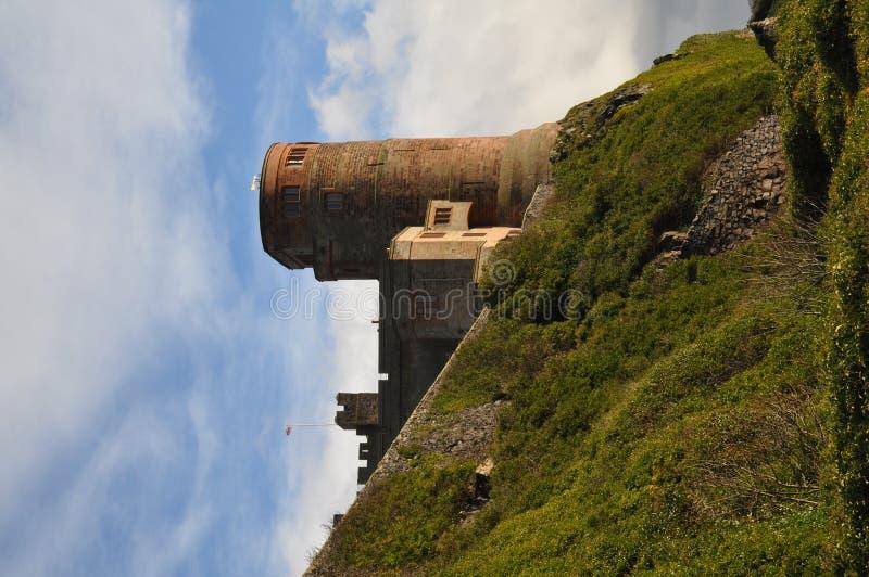 Castelo de Bamburgh em Northumberland fotografia de stock royalty free
