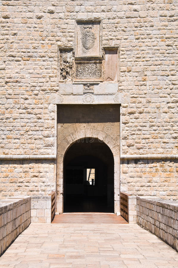 Castelo de Barletta Puglia Italy fotografia de stock