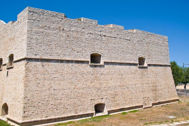 Castelo de Barletta Puglia Italy foto de stock