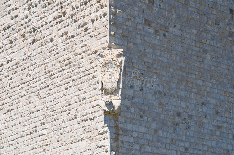 Castelo de Barletta Puglia Italy imagens de stock