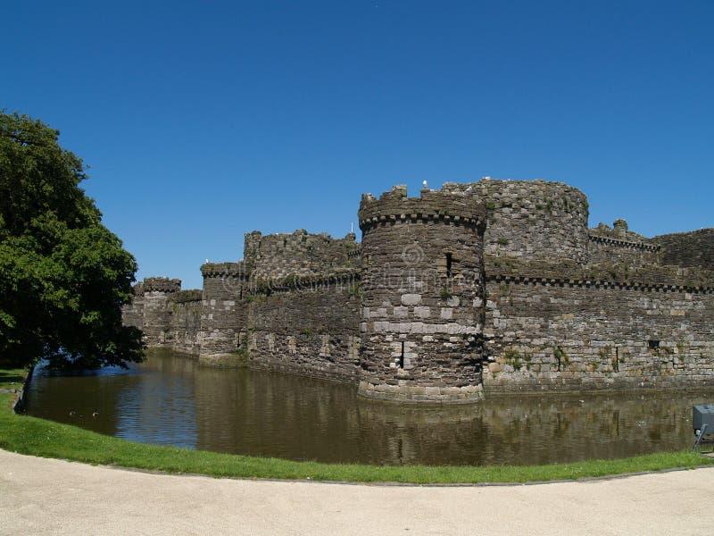 Castelo de Beaumaris foto de stock