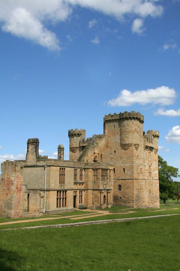 Castelo de Belsay imagens de stock