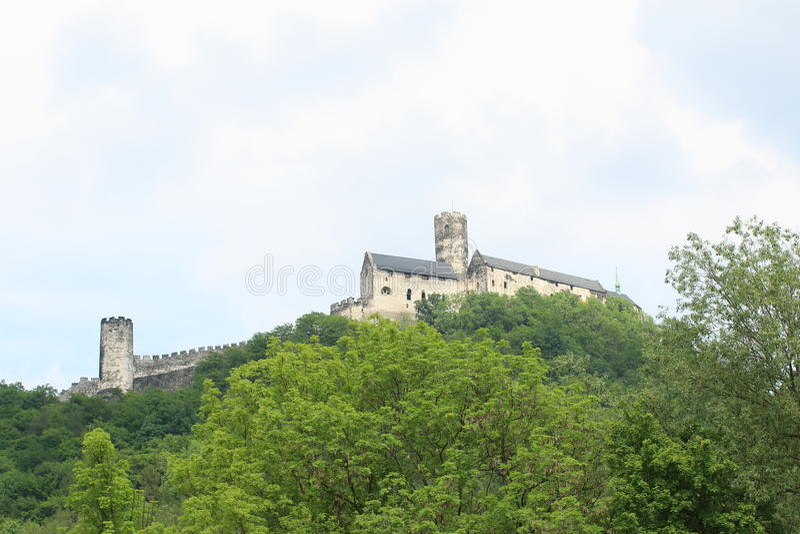 Castelo de Bezdez foto de stock royalty free