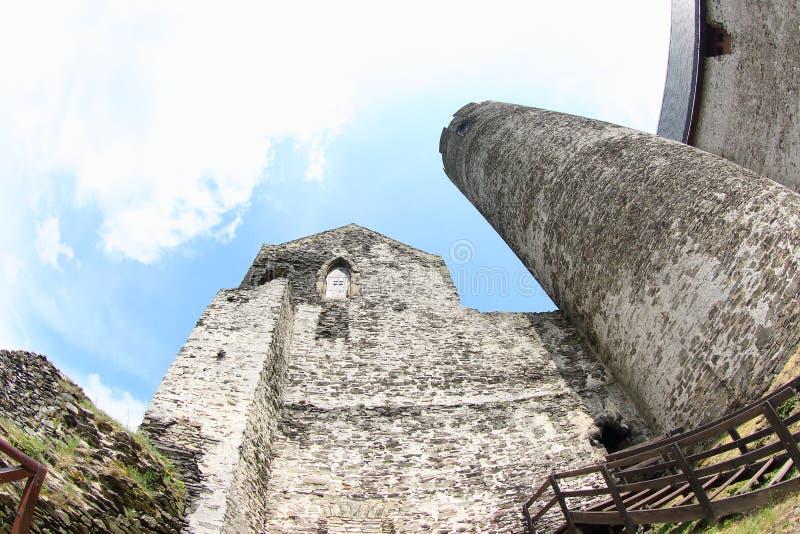 Castelo de Bezdez fotos de stock