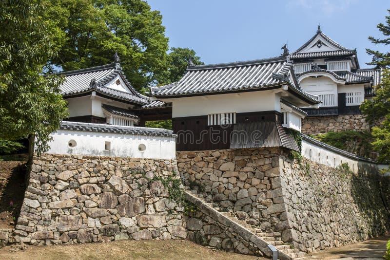 Castelo de Bitchu Matsuyama - Japão fotografia de stock royalty free