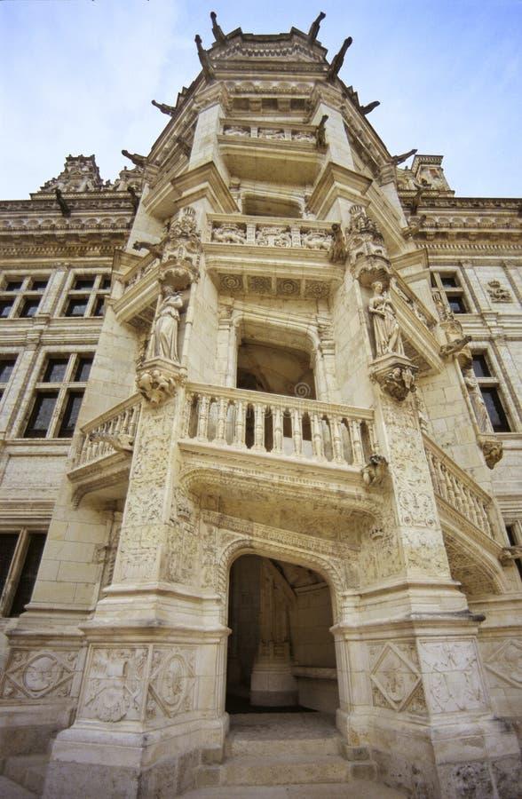 Castelo de Blois fotos de stock royalty free
